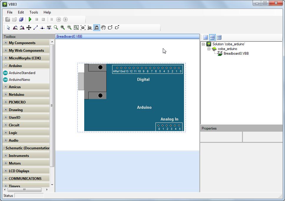 Belajar pemrograman arduino menggunakan vbb dsp