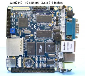 Mini2440 menggunakan ARM920T
